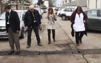Hospital Regional inspecciona puntos criticos