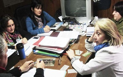 Nueva directiva Fenats reune directora HSF