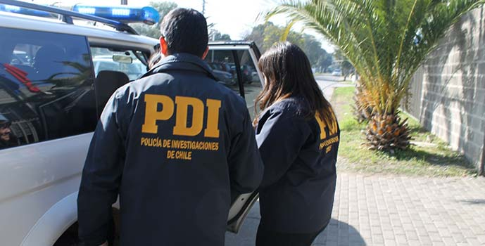 PDI detenido por abuso sexual