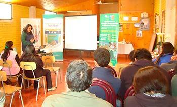 Conaf Navidad promocion Bosque Nativo