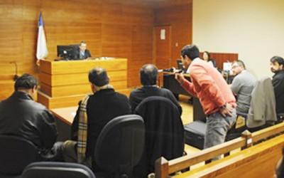 Fiscalia formaliza dos ex carabineros