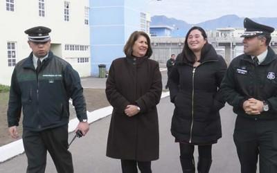 Gobernacion visita Centro Penitenciario Rancagua