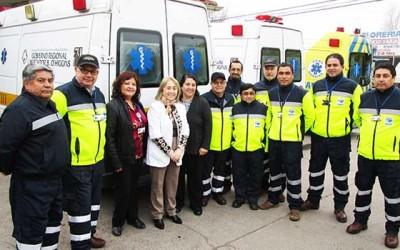 Hospital San Fernando nuevos uniformes