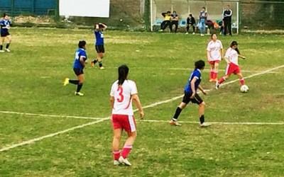 Machali campeonato futbol femenino