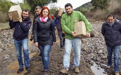 San Fernando ayuda Pueblo Hundido