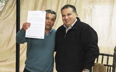 San Fernando municipio entrega terreno en comodato