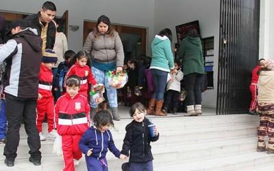 San Fernando preescolares cine los minions