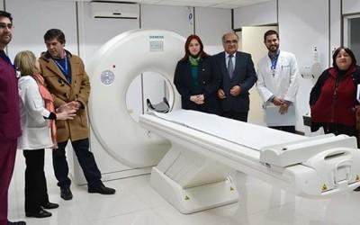 hospital san fernando nuevo scanner
