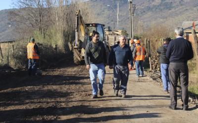 nuevos kilometros de pavimento Palmilla