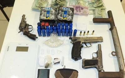 Carabineros Las Cabras venta droga Armas