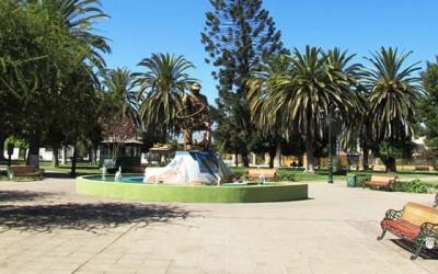 Chimbarongo plaza de armas