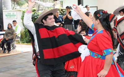 Fiestas Patrias escuela Juan Tachoire