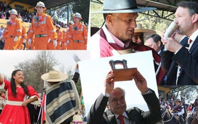 Mahcali desfile civico Fiestas Patrias