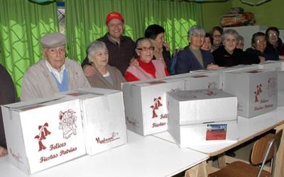 Mostazal 5 mil hogares reciben caja