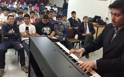 Pro OHiggins pianista Hugo Alonso Llanos
