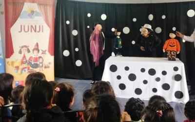 Junji en Malloa concluye ciclo teatro itinerante