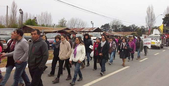 Palmilla dia de la oracion por Chile
