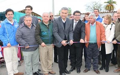 nuevas instalaciones feria libre San Vicente