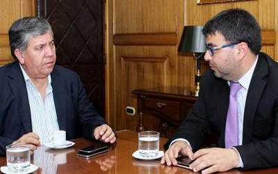 Alcalde de Rengo y consejo municipal reunion Intendente
