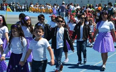 Colegios y jardines infantiles de Rancagua celebran semana del parvulo 2015