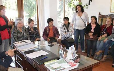 Machali dirigentes vecinales apoyo gestion alcalde Urrutia
