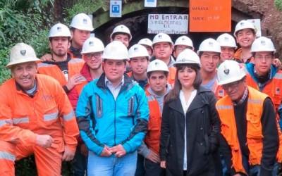 Mineria del aula a la mina el pimiento en Chancon