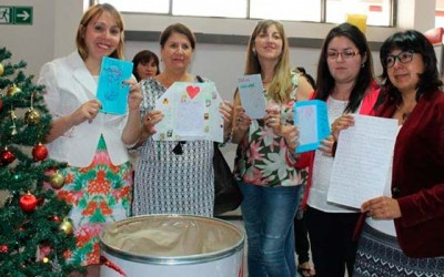 Autoridades regionales apadrinan cartas de Navidad