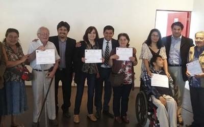 Clausura de proyecto que beneficia a personas en situacion de discapacidad en Santa Cruz