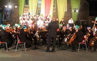 Con dos conciertos vecinos de Palmilla celebran Navidad