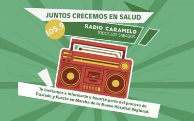 Debuta programa radial por traslado y puesta en marcha al nuevo hospital regional