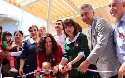 Integra inaugura nueva sala cuna en San Vicente