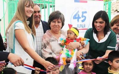 Junji inaugura jardin infantil en Lo Miranda