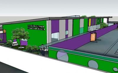 Junji nuevo jardin infantil en Peumo