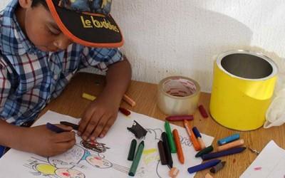 Machali taller arte niños