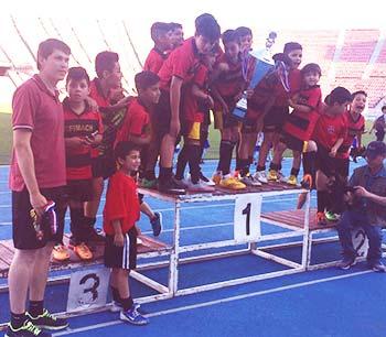 Machalinos nuevamente se titulan campeones en Copa Estadio Nacional
