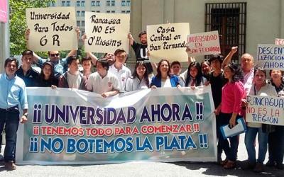 Movimiento Universidad para Totos en la Moneda