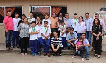 Pichideguanos medallistas Sudamericanos en Orientacion Terrestre