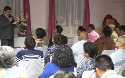 Vecinos rio loco Coya reciben escrituras viviendas
