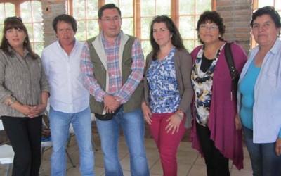 pequeños agricultores nuevos representantes en San Vicente