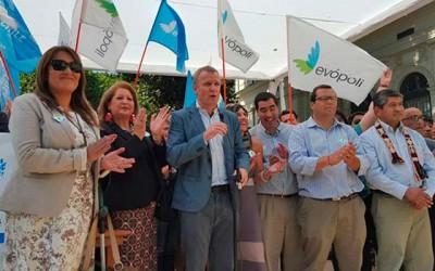 Evopoli ya es partido y la Sexta Region demostro su apoyo con record de firmas