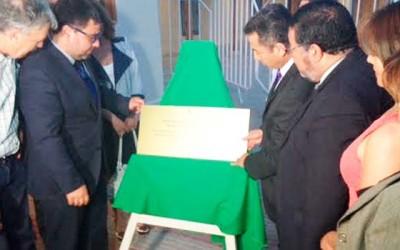 Inauguran remodelacion del Teatro Municipal de Requinoa