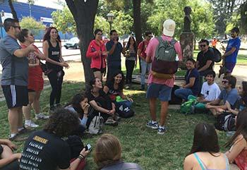 Injuv OHiggins despide a jovenes voluntarios de Vive tus parques