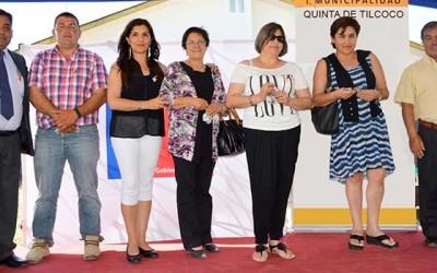 Minvu familias de comite Juan Leonardi reciben llaves casa propia