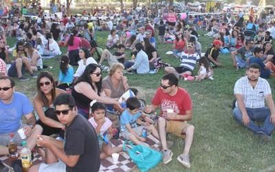 Picnic congrega a mas de cinco mil personas en el Parque Comunal