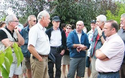 Agricultores franceses visitaron INIA Rayentue en la Region de OHiggins