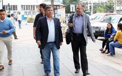 Alcalde de Rengo recibe a rector Correa con grandes novedades