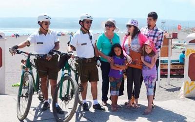 Con ciclopatrullajes Carabineros de Pichilemu realizara servicios preventivos