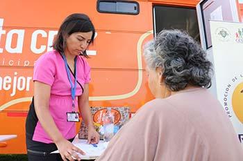 Continuan jornadas de recreacion y promocion de salud en Santa Cruz