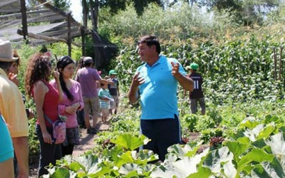 Curso para aprender a cultivar hortalizas de forma agroecologica en San Vicente