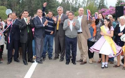 3 kilometros de camino fueron inaugurados en la comuna de Pichilemu